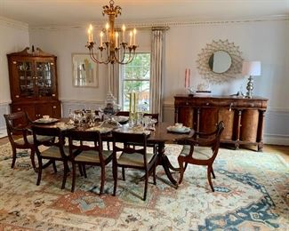 Simply stunning! This is the prettiest dining room EVER