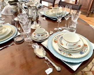 Limoges Vieux Chine Service for 12