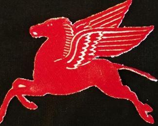 """7"""" Pegasus Patch, vintage 1960s"""