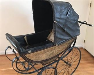 Vintage child's carriage/stroller https://ctbids.com/#!/description/share/317390