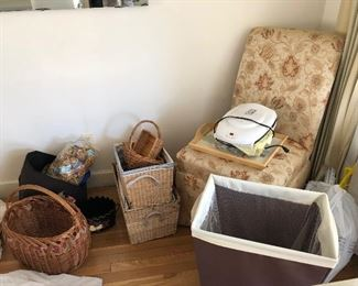 decor and baskets