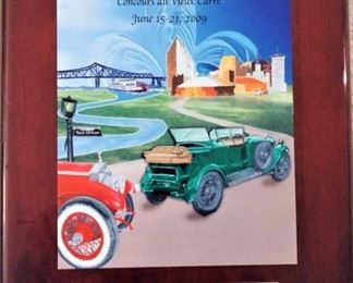 Bentley New Orleans National Award Winner Plaque