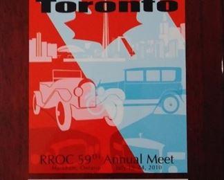 Bentley Toronto National Award Winner Plaque