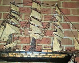 Frigate Model Ship - very detailed