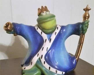 The Prince of FROGS teapot