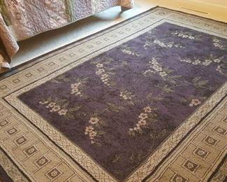 5 x 7 purple area rug