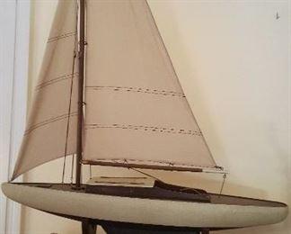 Sailboat model ship