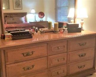 Stanley dresser and mirror