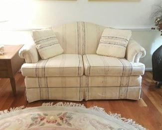 Loverseat and end tables