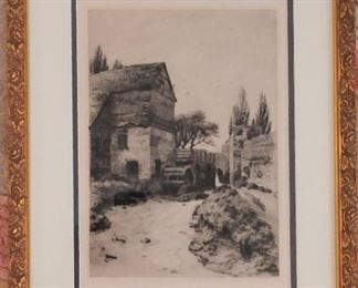 another European Etching