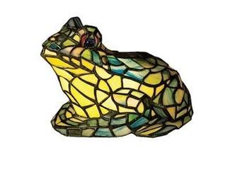 MEYDA Stained Glass Tiffany Style FROG light
