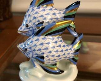 Herend ceramic fish