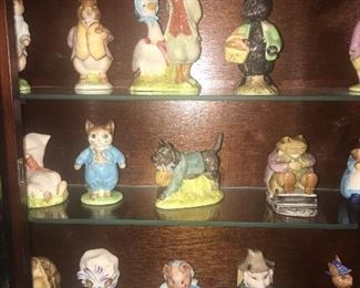 "Large collection of ""Royal Albert"" and ""Beatrix Potter"" collectible figurines!"