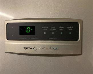 Frigidaire upright stainless steel deep freezer
