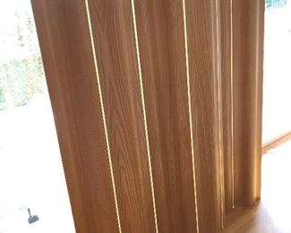"""Vintage Mid-Centory Modern  Molded Ash Wood """"Wave"""" Screen for Herman Miller by Charles and Ray Eames.  Taking highest / best offers including from out of town bidders. Call Lisa"""