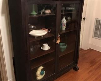 Antique China Cabinet or Bookshelf