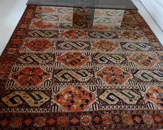 Selection of oriental carpets