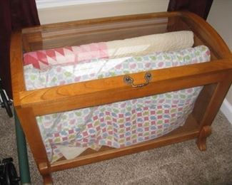 quilt display case