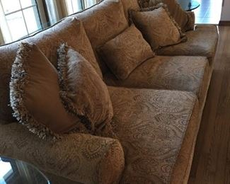 """98"""" long Bernhardt Sofa in excellent, firm condition"""