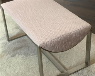 1 West Elm Bower Lounge Chair w/ Ottoman #2 20775475wer 4990805Chair: 33x28x33in. Ottoman: 15x28x16in HxWxD