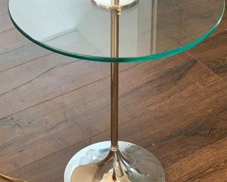 #2 MCM Chrome Globe Floor/Table Lamp #2  Robert Sonneman54x16x16inHxWxD