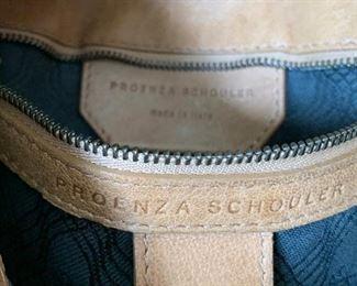 Proenza Schouler Saddle Leather Satchel  SP1 Crossbody12in