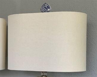 Contemporary Acrylic Table Lamp #1