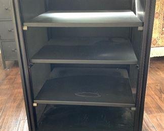 Heavy Duty Rolling AV/Media Cart Cabinet33.5x23x20inHxWxD