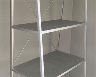Contemporary Metal Shelf Unit72x26x21inHxWxD