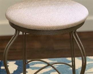 Wrought Iron Vanity Chair
