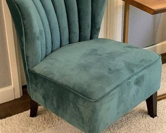 Contemporary Shell Back Chair34x25x28inHxWxD
