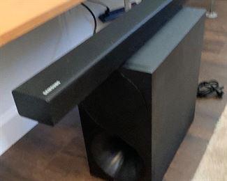 Samsung 2.1 ch Soundbar & Subwoofer PS-WM30