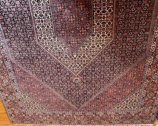 Persian hand-woven carpet. Length 303 and Width 202