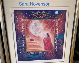 Signed and numbered art by Sara Novenson