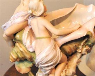 Detail of Royal Dux porcelain
