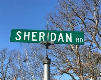 I would like to thank the City of Highland Park for naming a road after our company.  They didn't name it after our company?  Dang