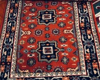 3x12 wool hand knotted runner