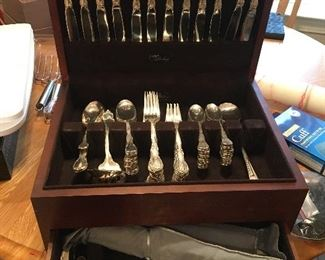 79 price Sterling Flatware set by Lunt Pattern Mignonette. Very nice condition . $2500
