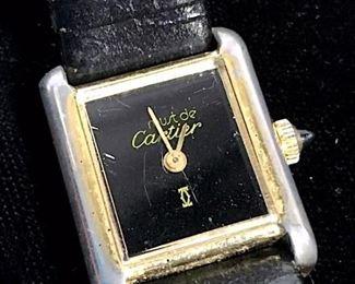 Vintage Must de CARTIER Tank Wristwatch