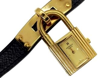HERMÈS Kelly Lock Wristwatch Bracelet