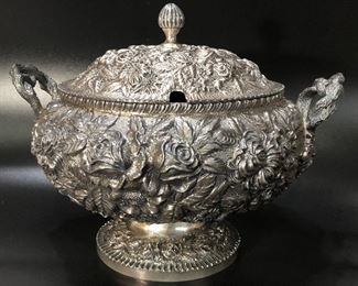 Schofield Co Holloware sterling Tureen circa 1903-1905