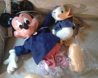 "Near Mint VINATGE  Mickey Mouse Pelham Marionette-24"" with Box!  Donald Duck, also Pelham"