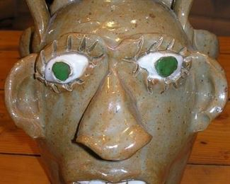 Jerry Brown Alabama Double  Face Facejug