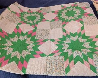 Homemade Quilt If you've ever wanted one, now is your chance!