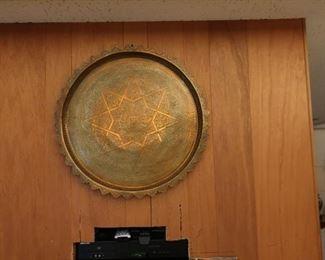 brass wall decor