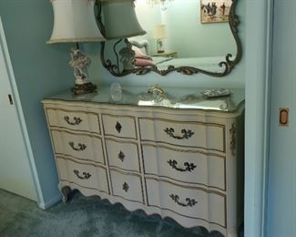 country french dresser(part  of  set,)  not  the  mirror