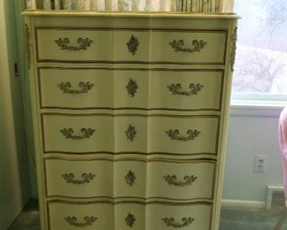 country french chest(part of set)