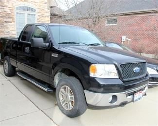 Ford F150, Supercab, 4WD, Flex Fuel,  6.5' Bed, 80,000 mi.