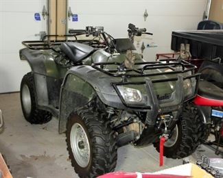 Honda 250 Fourtrax ATV