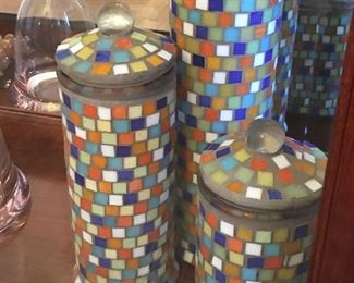 Mosaic Canisters